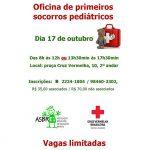 Oficina de primeiros socorros pediátricos (17/10)